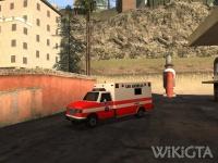Ambulance in GTA San Andreas