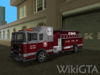 Fire Truck in GTA Vice City