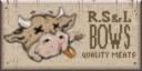 R.S. & L. Bows Quality Meats-logo