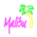 Malibu Club neon-logo