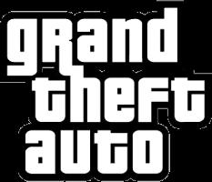 Het logo van GTA in het Pricedown lettertype