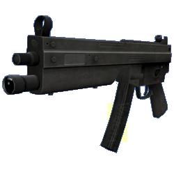 MP10 versie van de SMG