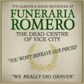 Funeraria Romero logo embleem.png