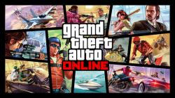 Releaseposter van GTA Online.