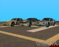 Drie verschillende Hotring Racers