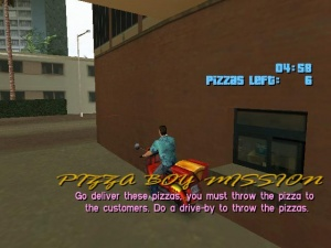 Pizza Boy Mission